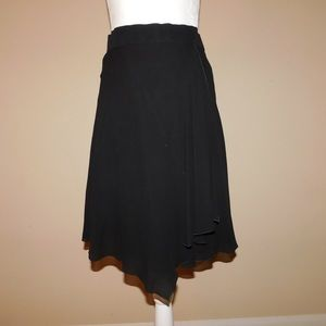 Black Chanel skirt